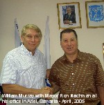 Murray and Nachman in Israel