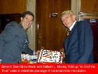 Sen. Brownback / W Murray and cake - Click for larger view and expalnation